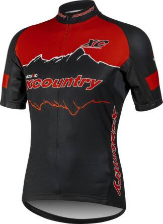 Koszulka XC COUNTRY RED