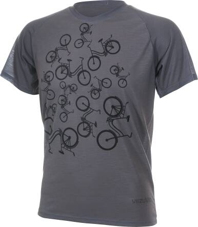T-shirt męski URBAN GREY