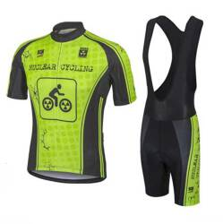 Komplet rowerowy NUCLEAR CYCLING FLUO