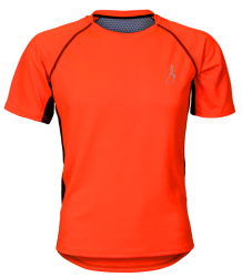T-shirt męski sportowy Run Orange