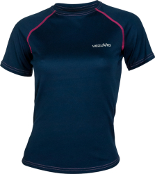 T-shirt damski do biegania Corsa Lady Pink