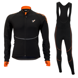 Cycling set SuperRoubaix Calore Orange
