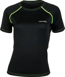 T-shirt damski do biegania Corsa Lady Fluo